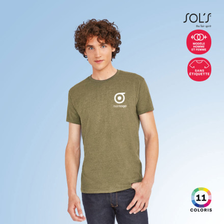 TEE SHIRT HOMME PERSONNALISABLE 'IMPERIAL FIT' 190 GR/M²