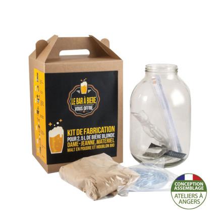 COFFRET PERSONNALISABLE DIY BRASSAGE DE BIERE 3L 'MY BEER'