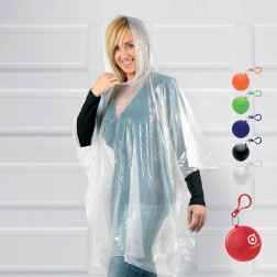 PONCHO PLUIE PUBLICITAIRE BALLE ADULTE 'GALWAY'