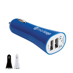 CHARGEUR ALLUME-CIGARE PUBLICITAIRE USB 'EDISON'