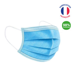 MASQUE CHIRURGICAL PUBLICITAIRE TYPE IIR MADE IN FRANCE 'TILLY'
