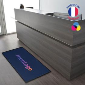 TAPIS D'ACCUEIL PERSONNALISÉ 'BIENVENUE'