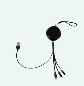 CÂBLE USB RÉTRACTABLE 3 EN 1 LIVOO®