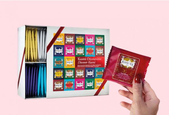 COFFRET DÉCOUVERTE KUSMI TEA® 48 SACHETS
